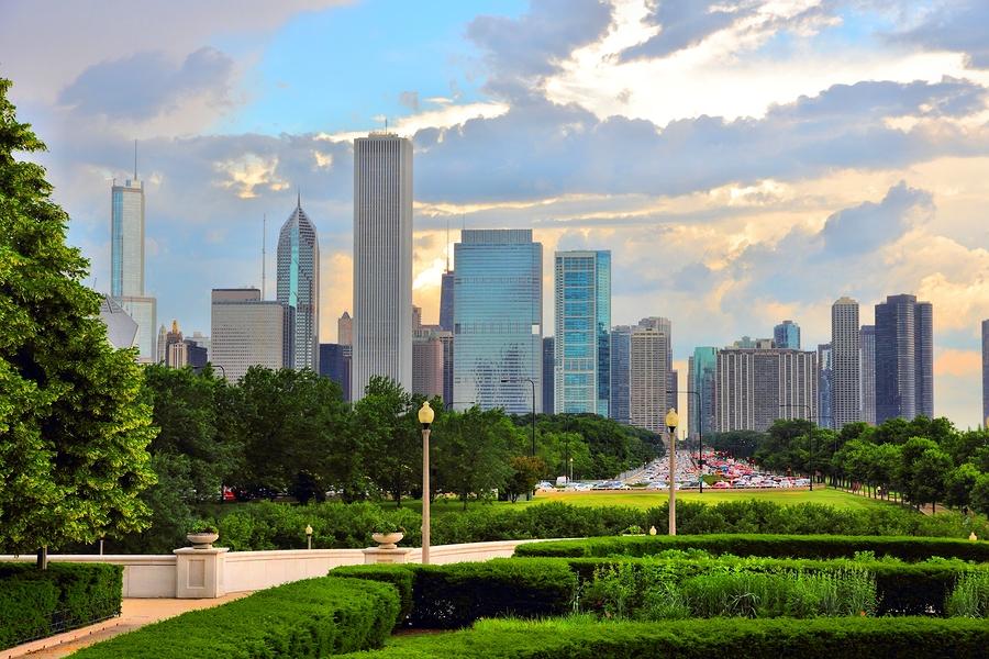 Grant Park Views Chicago Condo and Apartment Buildings
