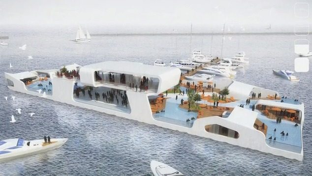 A Look At Breakwater Chicago A Floating Resort Concept