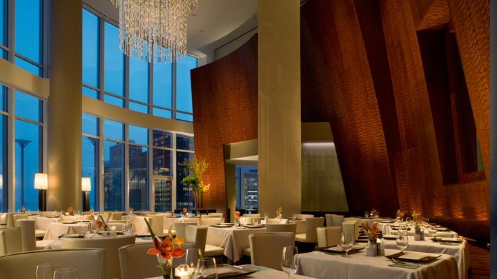 Sixteen Restaurant in Trump Tower Chicago