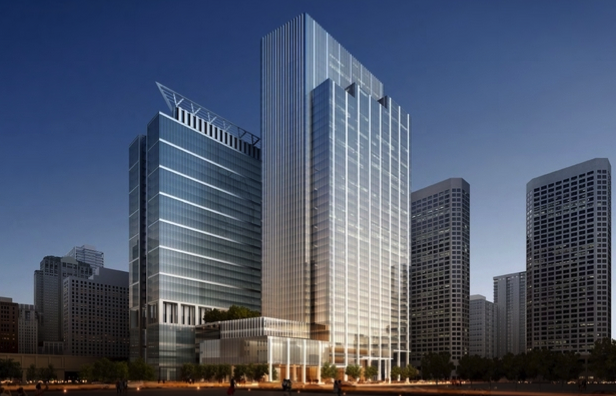 Stunning New Hotel Office Tower Possibly Coming To 590 W Madison In West Loop