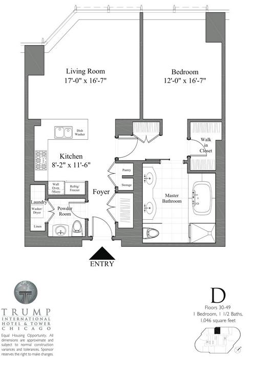Th St Chicago Floor Plan
