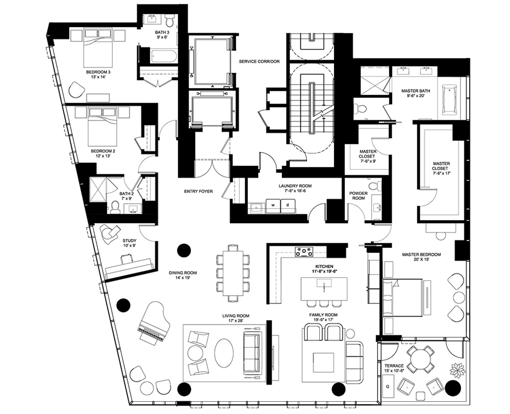 TIER 1 SOUTH | 3486 SQUARE FEET