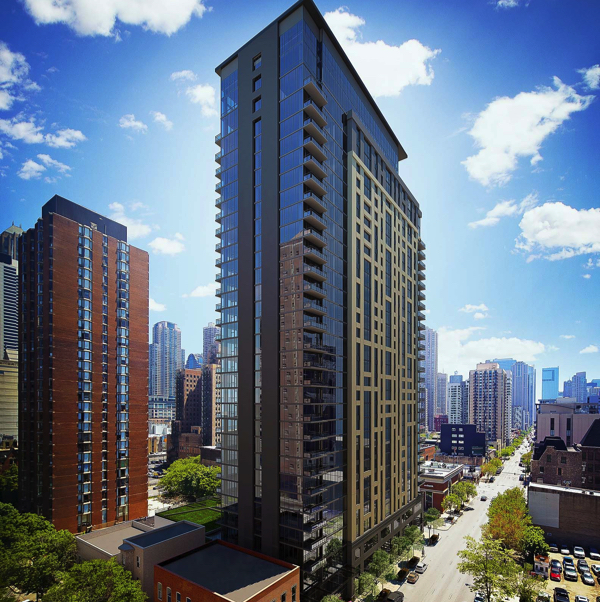 Aurélien Is A Stunning New Apartment Tower That Sits Right On The Cusp Of  Chicagou0027s Vibrant River North And Gold Coast Neighborhoods.