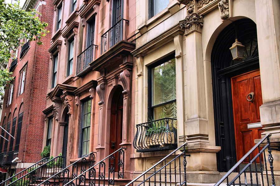 Brownstones on Astor Street in the Gold Coast